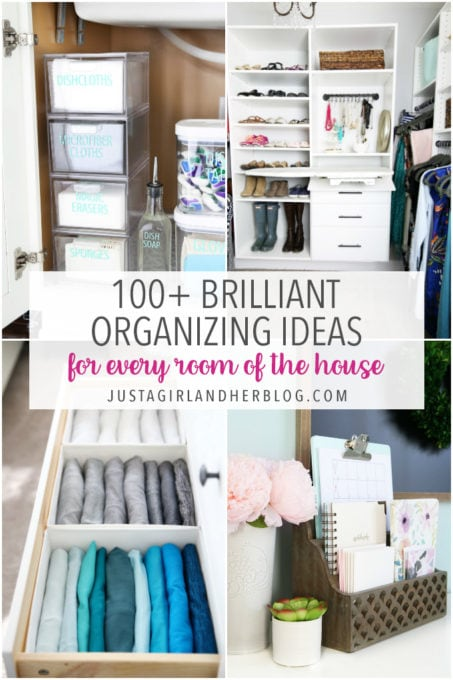 100 Brilliant Organizing Ideas for Every Room of the House
