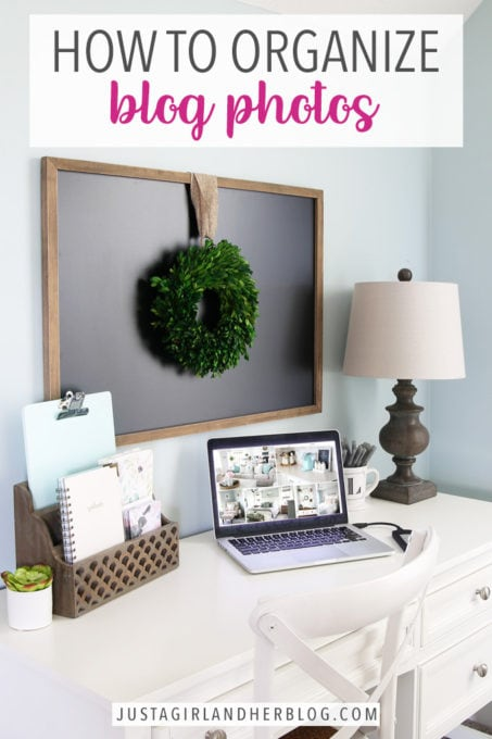 How to Organize Blog Photos