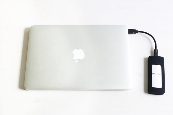 MacBook Pro with Glyph SSD Hard Drive