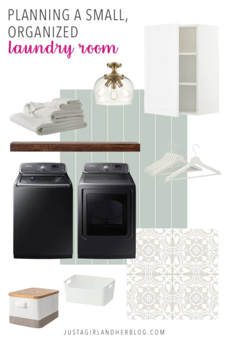 Planning a Small, Organized Laundry Room