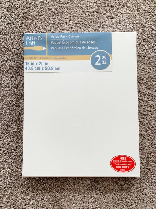 Package of 2 Canvases