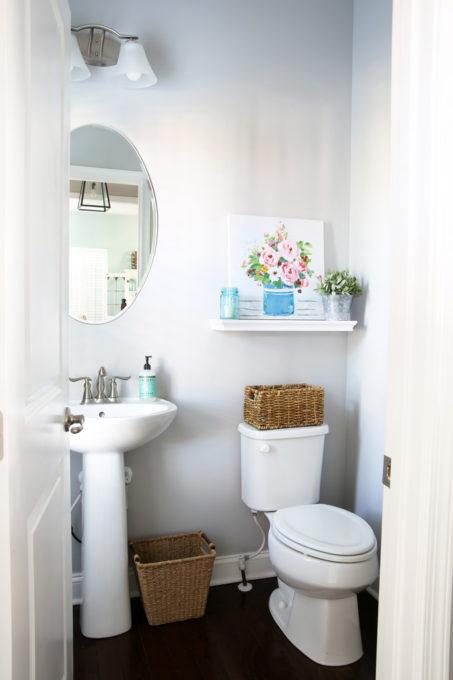 Beautiful Half Bath Powder Room Decorating Ideas Abby Lawson