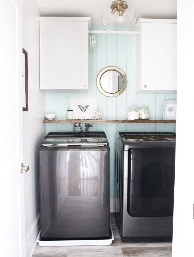 Small Laundry Room Organization and Decor Ideas