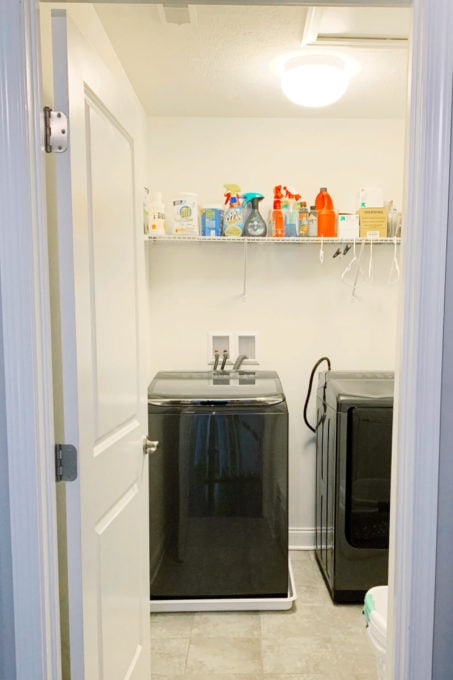 Small Laundry Room Before Photo