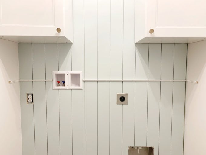 Shoe Moulding Attached to Wall as a Shelf Support