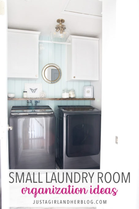 Small Laundry Room Organization Ideas Abby Lawson