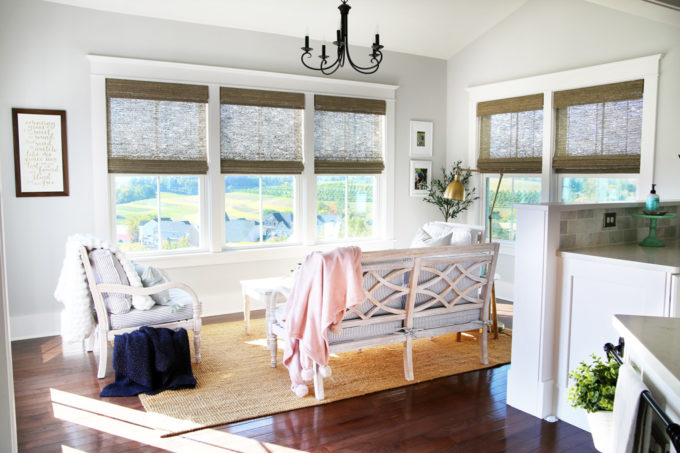 Sunroom Morning Room in a Ryan Homes Palermo