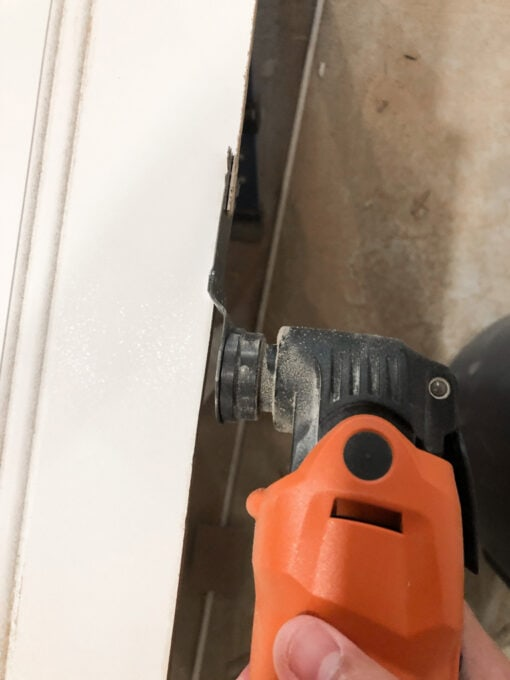 Trimming Beadboard Wainscoting
