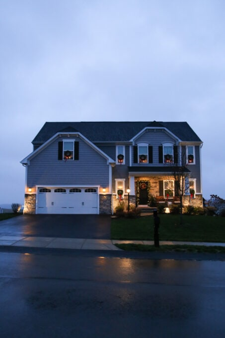 Ryan Homes Palermo with Low Voltage Landscape Lighting