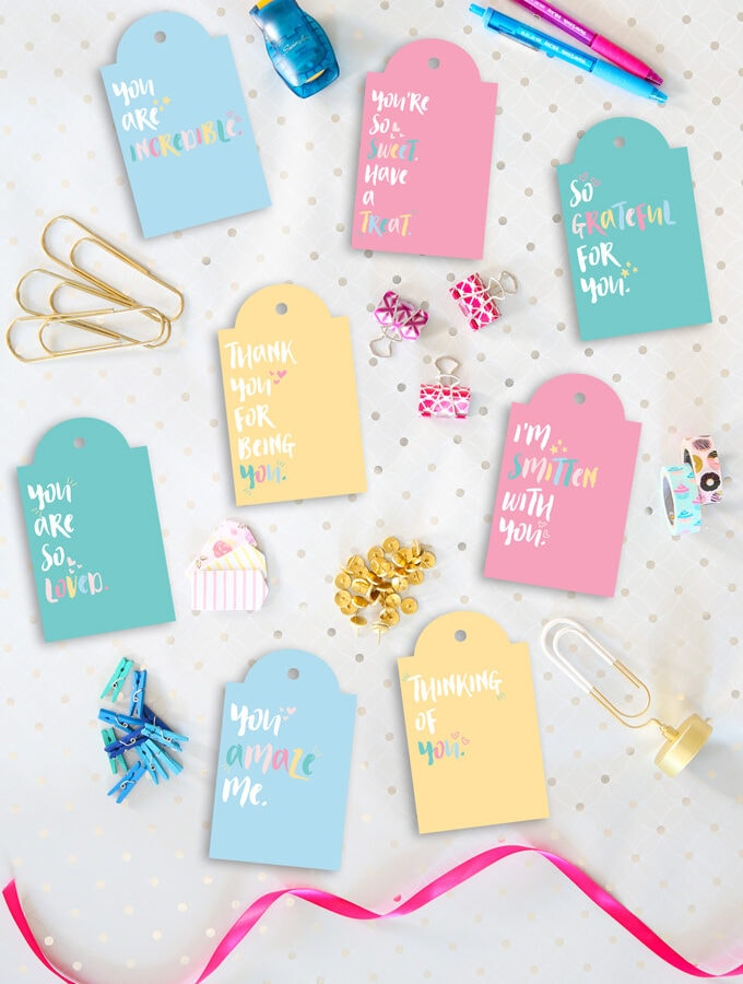 Encouragement Gift Tag Printables