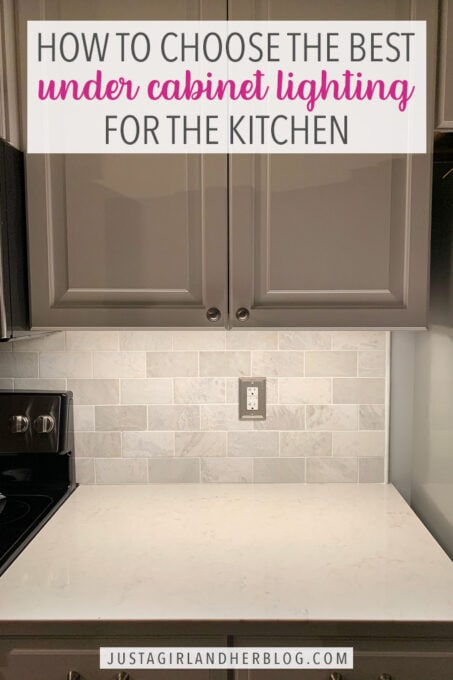 Choosing Under Cabinet Lighting For The, Under Cabinet Lighting Recommendations