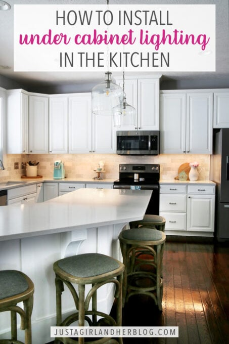 How to Install Under Cabinet Lighting in the Kitchen