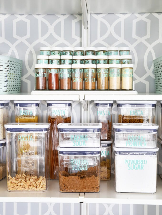 Spices and Decanted Items in OXO POP Containers