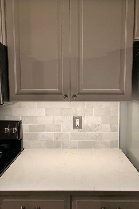 3000K Color Temperature Under Cabinet Lighting