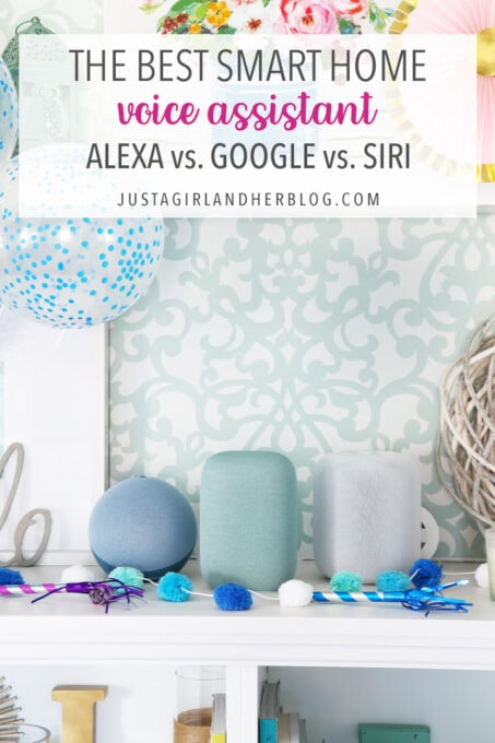 The Best Smart Home Voice Assistant, Alexa vs. Google vs. Siri